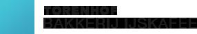 Huisbereid ijs en brood in het IJskafee Logo